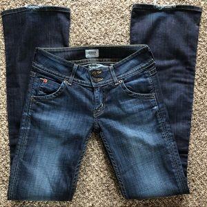Hudson boot cut flap pocket jeans 👖 Size 25